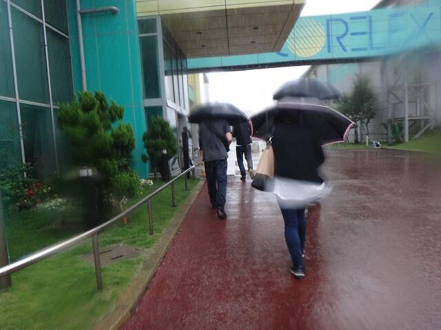 学生コアレックす雨