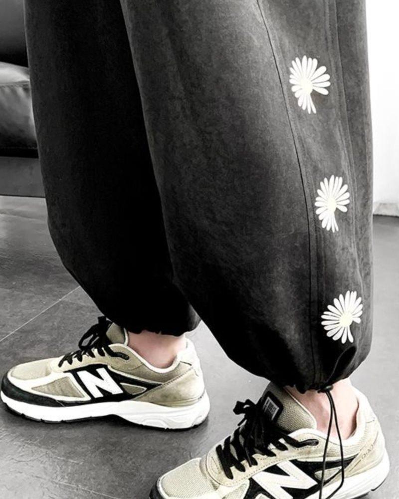《2色》デイジーサイドラインジョガーパンツ(小さいサイズ)の画像7
