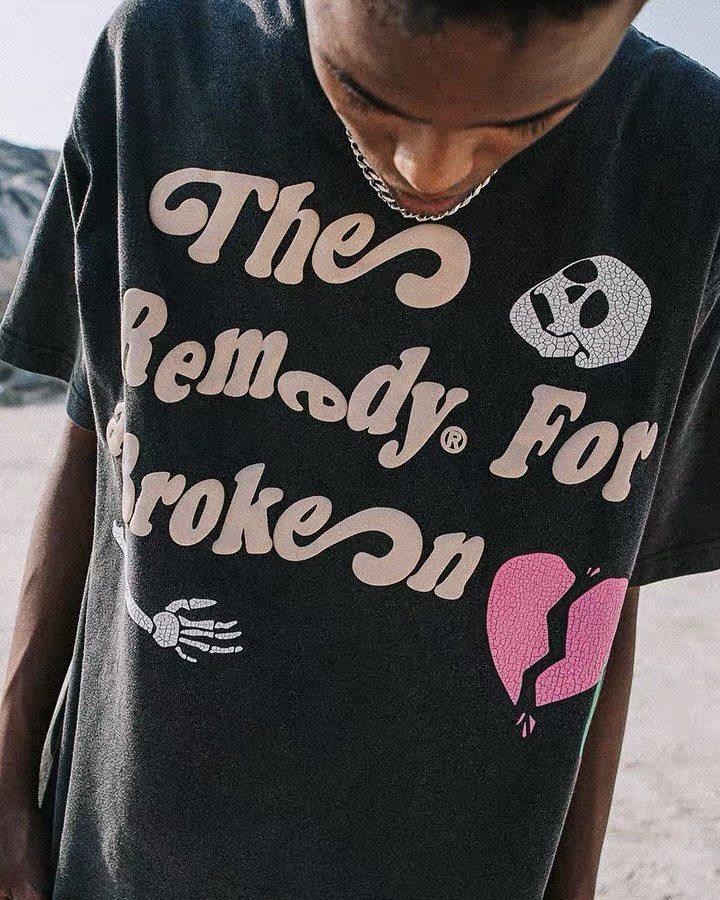 スカルハートTシャツの画像3