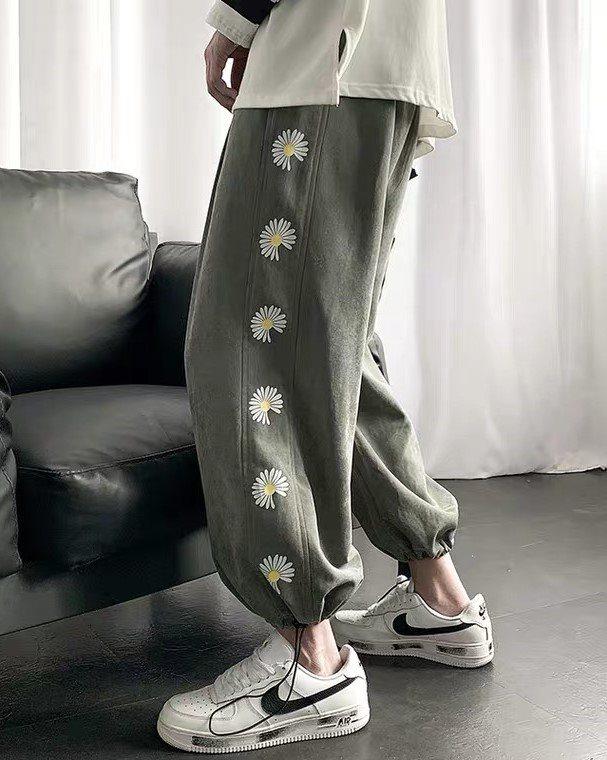 《2色》デイジーサイドラインジョガーパンツ(小さいサイズ)の画像1