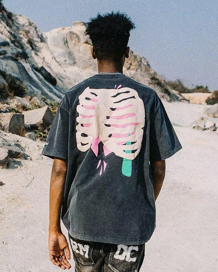 スカルハートTシャツの画像7