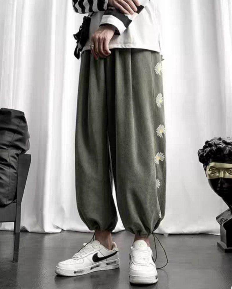 《2色》デイジーサイドラインジョガーパンツ(小さいサイズ)の画像4