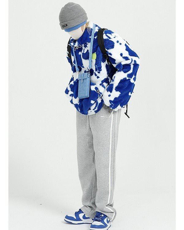【先行予約】《3色》ホルスタイン柄ボアジャケットの画像6