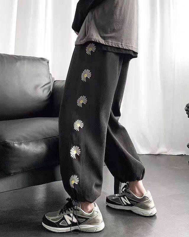 《2色》デイジーサイドラインジョガーパンツ(小さいサイズ)の画像3