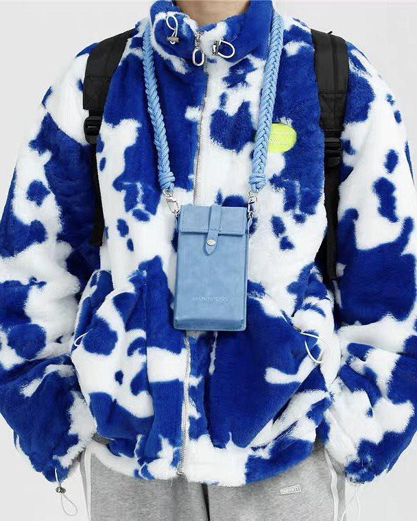 【先行予約】《3色》ホルスタイン柄ボアジャケットの画像4