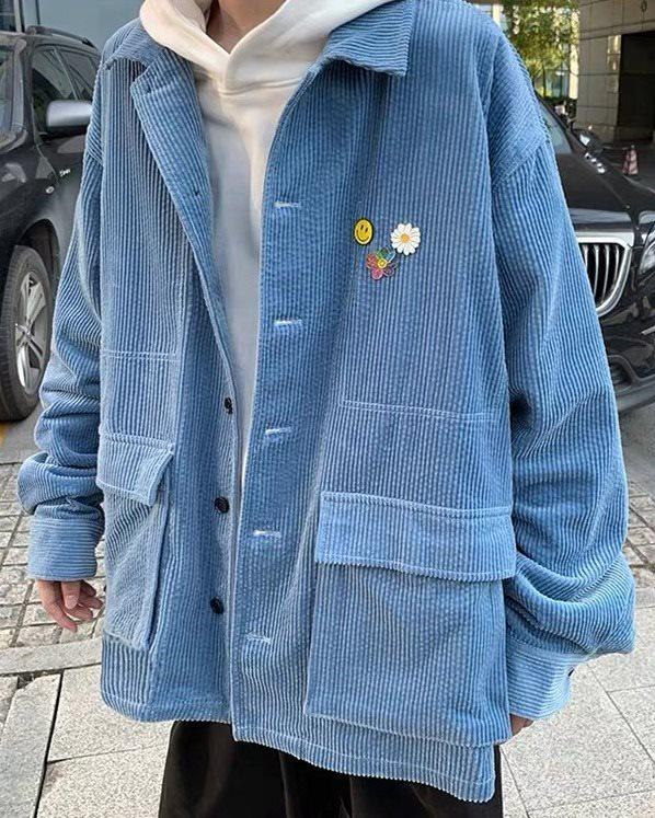 《2色》コーデュロイジャケット(小さいサイズ)の画像1