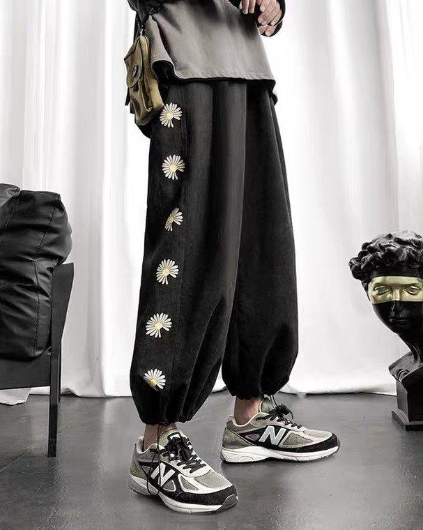 《2色》デイジーサイドラインジョガーパンツ(小さいサイズ)の画像2