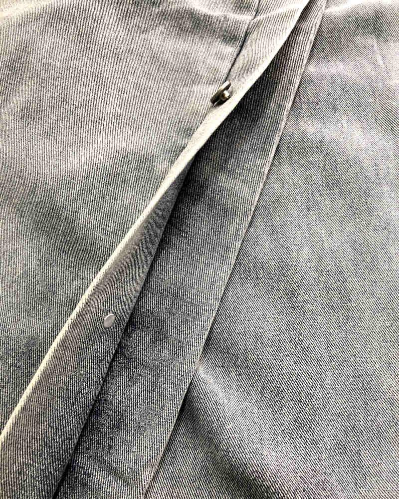 《2色》サイドスナップデニムジョガーパンツ(小さいサイズ)の画像5